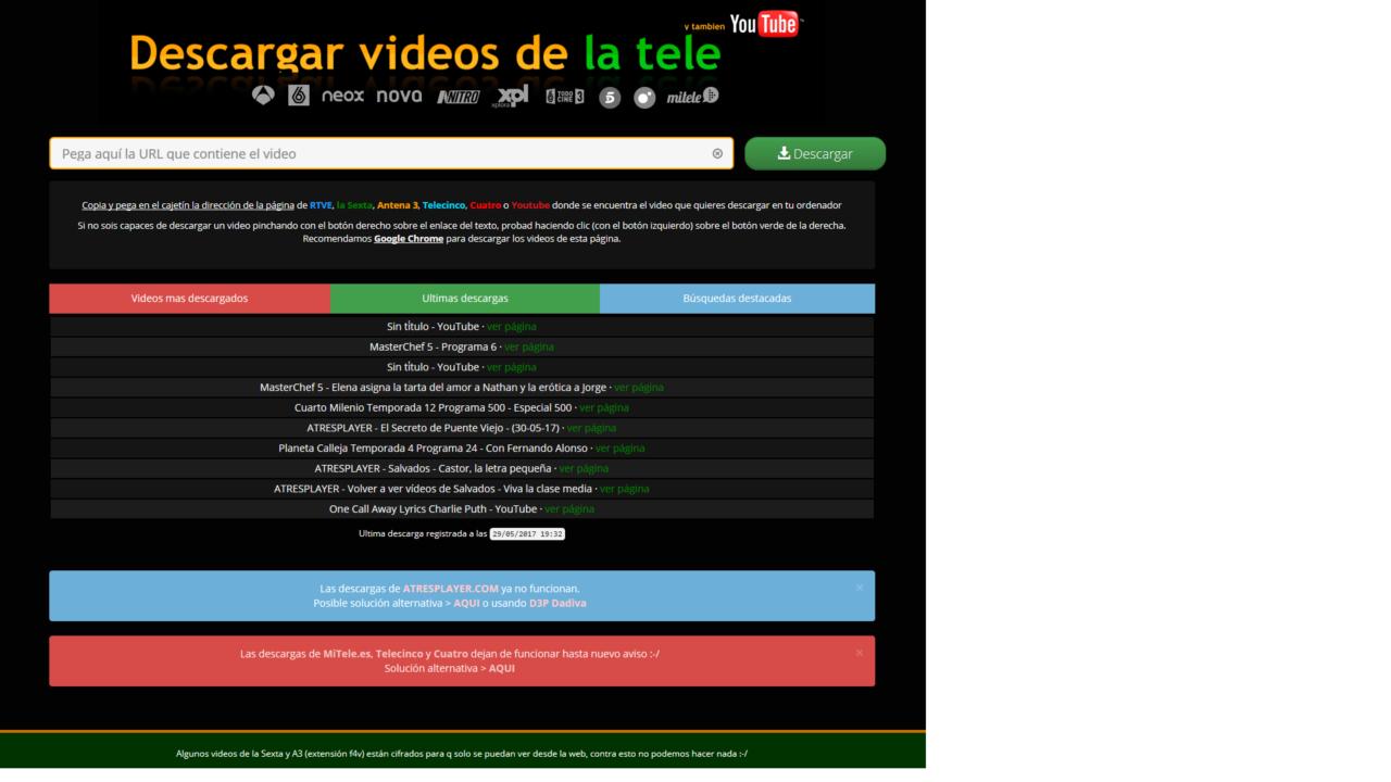 Atresmediaset Downloader - Programa gratis para descargar videos de ...