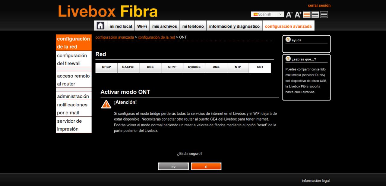 Nuevo Livebox Fibra Sagemcom ¿sabéis algo?