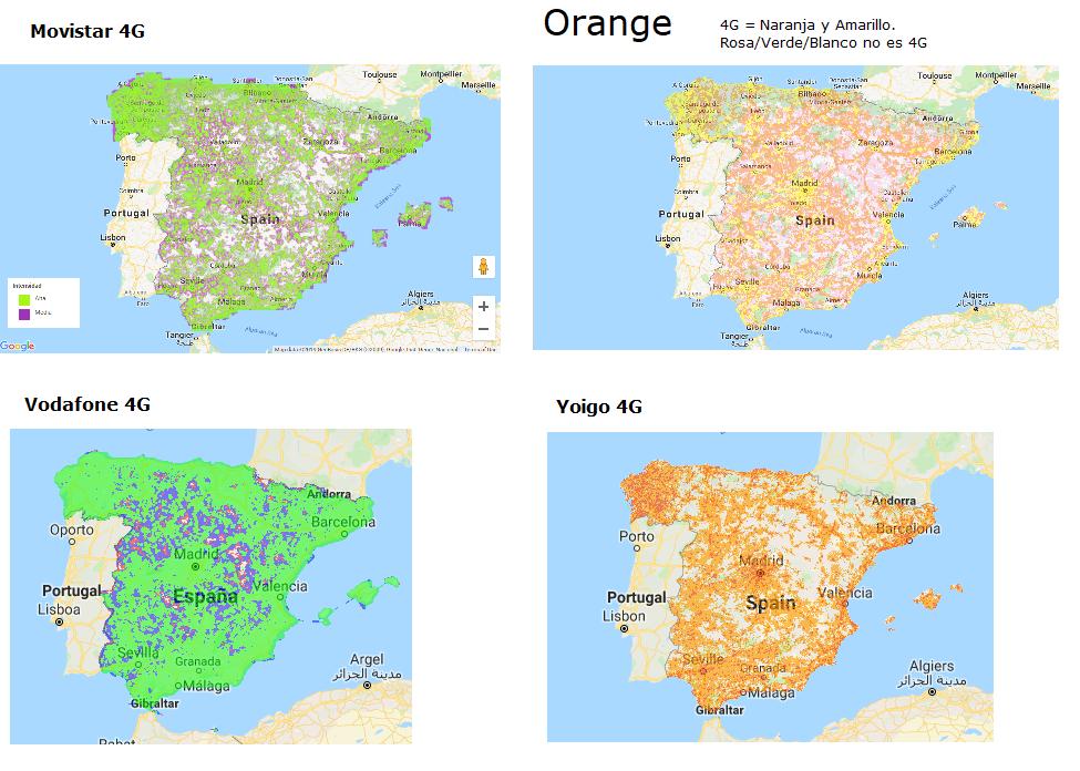 Mapa De Cobertura Vodafone.Vodafone Publica Su Mapa De Cobertura 5g