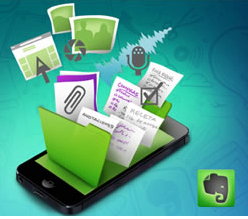 Movistar con Evernote