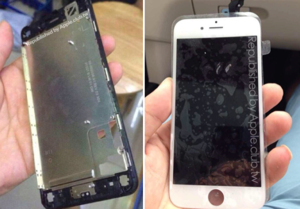 Posible frontal de un iPhone 6